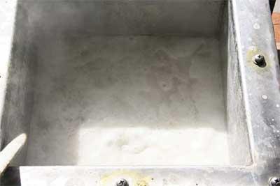 wastewater foam