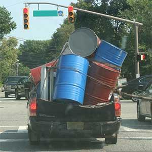 wastewater transport hazard